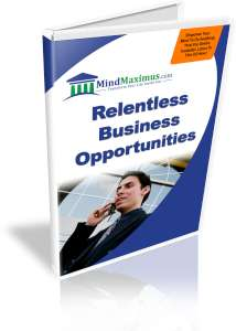 Relentless Business Opportunities Brainwave Entrainment